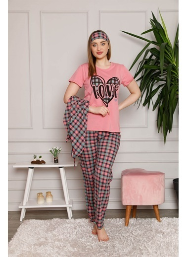 Akbeniz Pijama Takım Füme